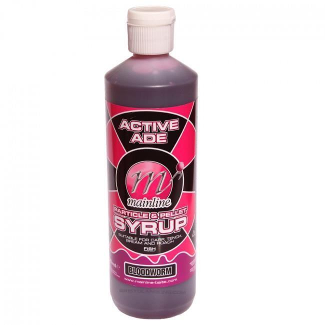 Mainline Syrup Bloodworm 500ml Active Ade Particle & Pellet Syrup