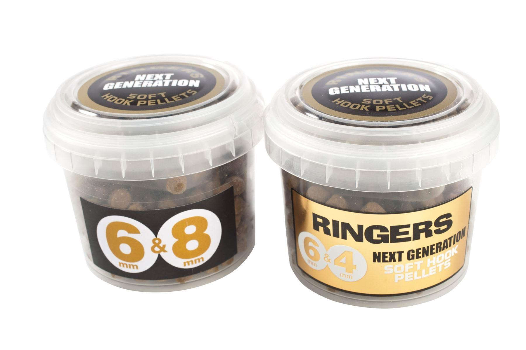 Ringers Pellets Next Generation Soft Hook Pellets 8mm & 6mm 200g