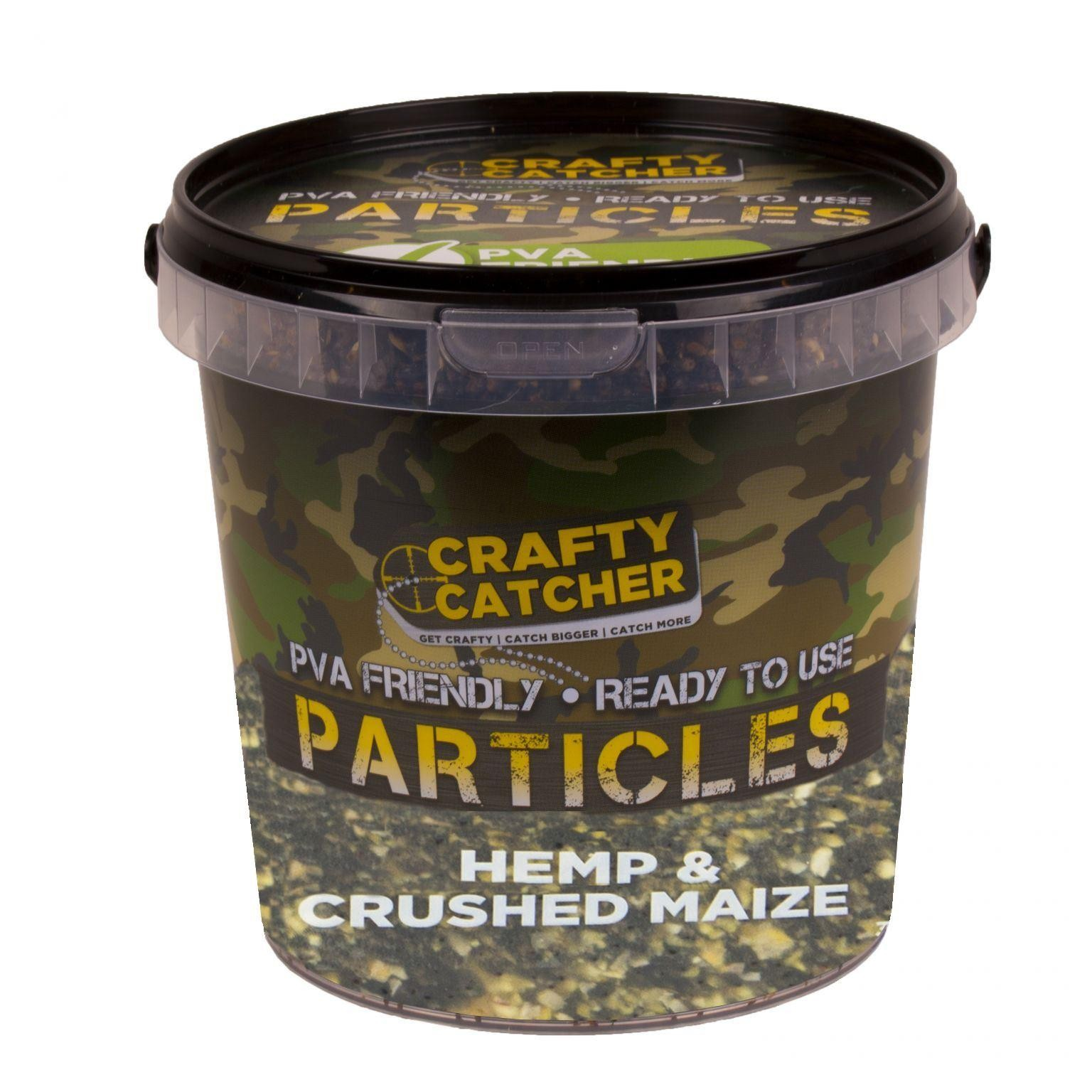 Crafty Catcher Hemp & Crushed Maize 1.1l Grab Pack Ready To Use