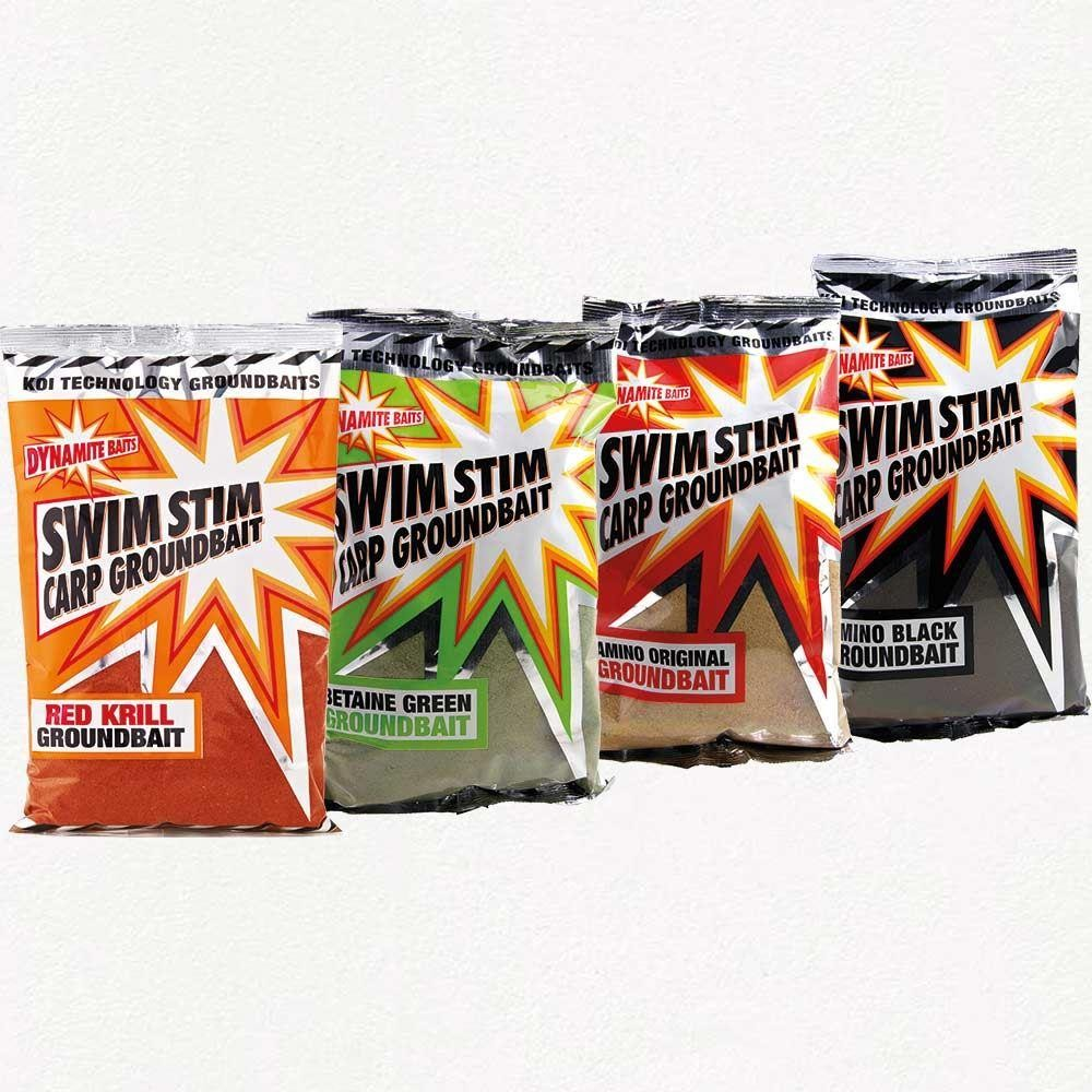 Dynamite Groundbaits Swim Stim Amino Black 900g