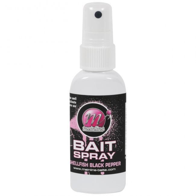Mainline Bait Sprays Shellfish Black Pepper Instant Boost of Attraction 50ml