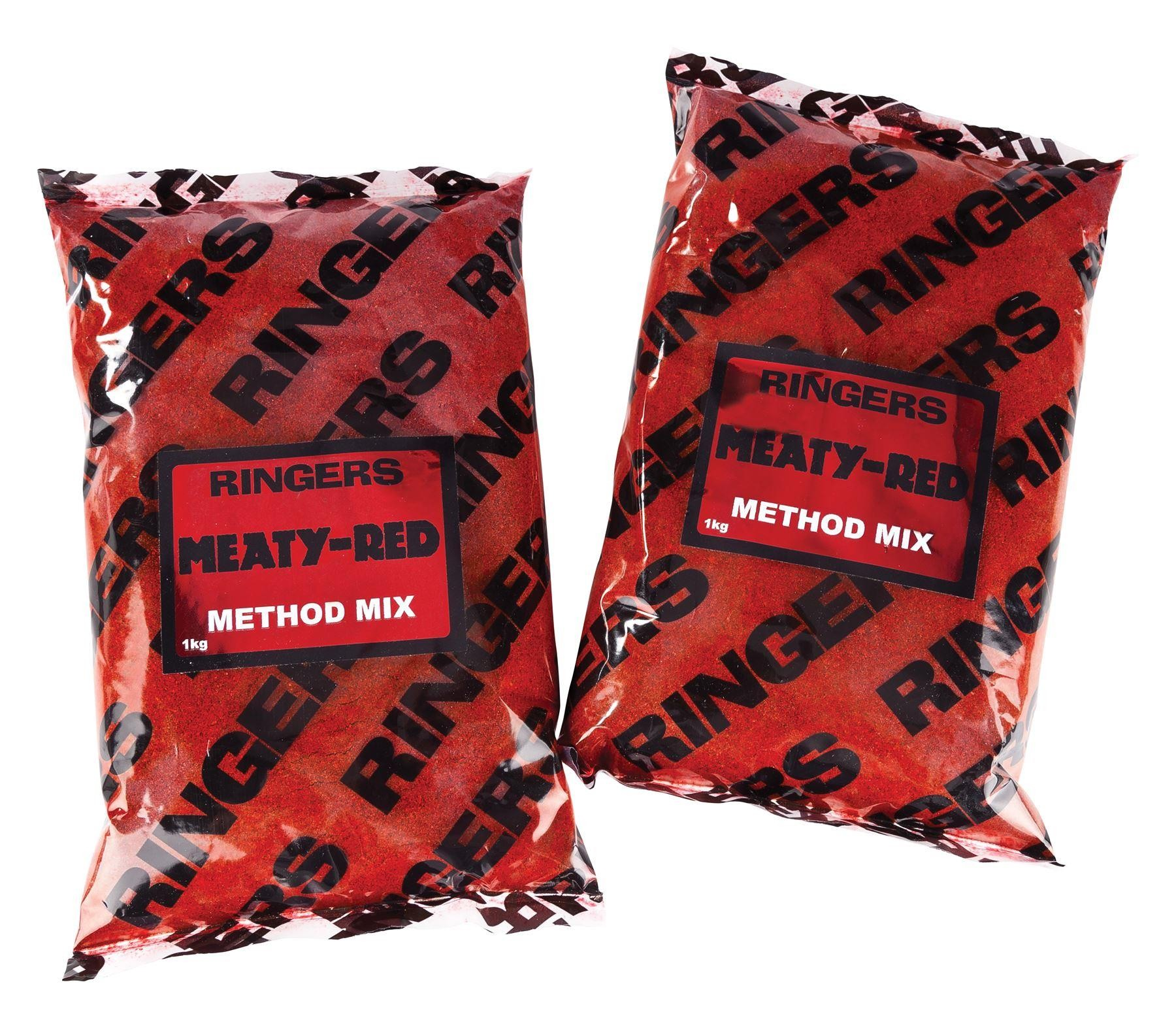 Ringers Groundbaits Meaty Red Method Mix 1kg