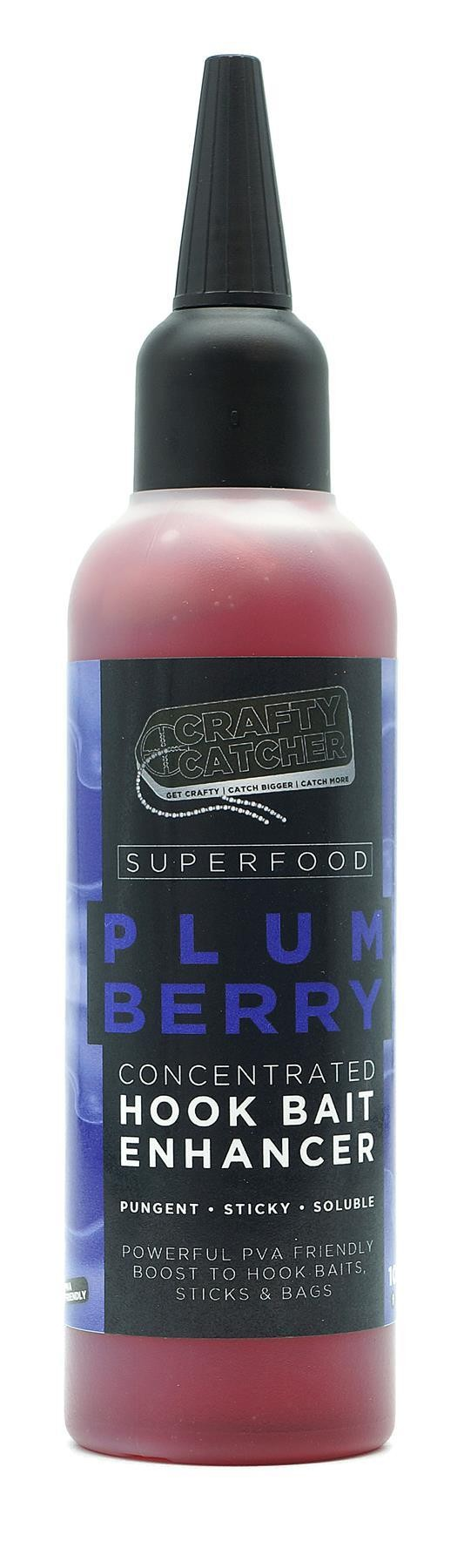 CRAFTY CATCHER SUPERFOOD PLUMBERRY ENHANCER 100ML CARP FISHING BAIT