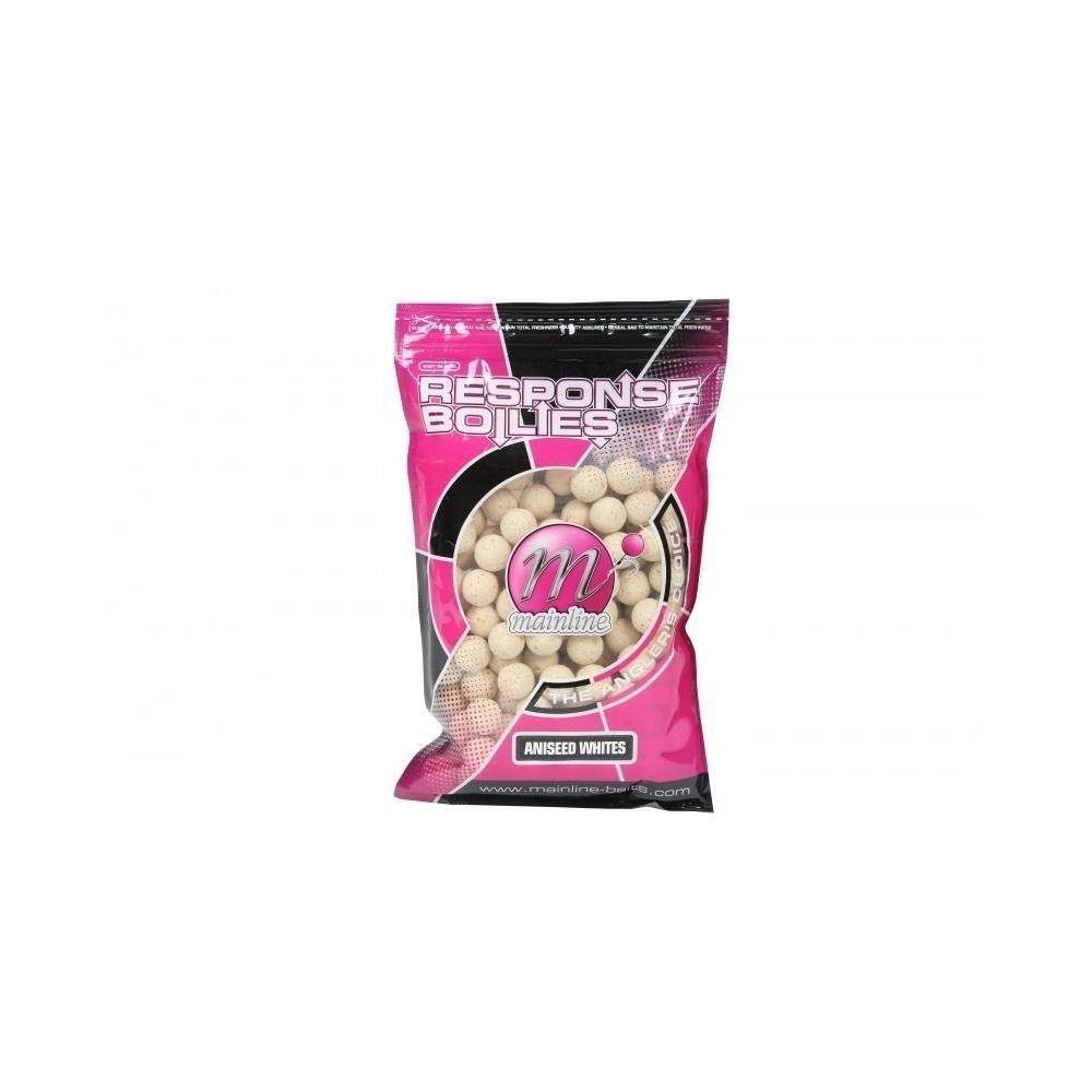 MainlineTotal Respons  Aniseed Whites 15mm Handy Pack Boilies 200g