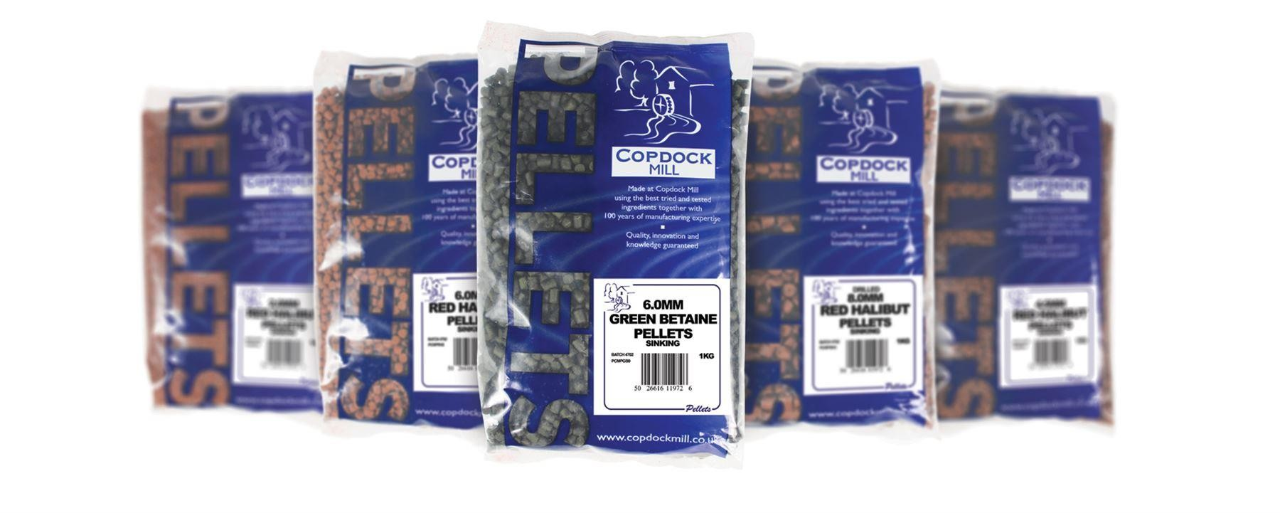 Copdock Mill Coppens Premium Red Halibut Pellets 4.5mm 1Kg