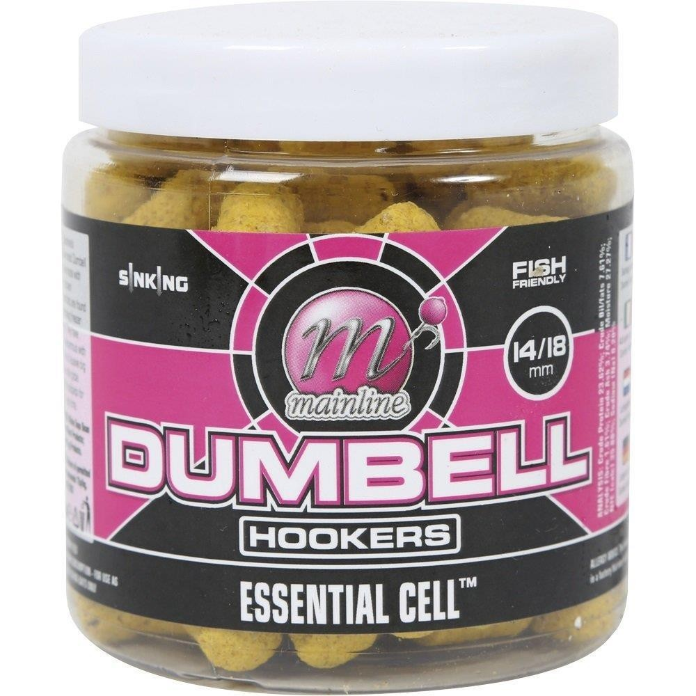 Mainline Dumbell Hookers Essential Cell 10mm 160g Tub
