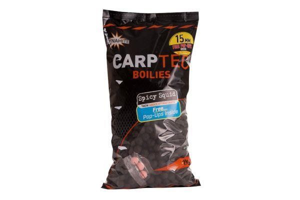 Dynamite Carp-Tec Boilies  15mm 2kg - Spicy Squid
