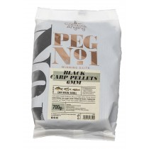 Copdock Angling Peg No.1 Black Carp Pellets 6mm 700g