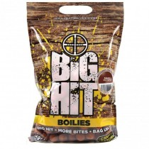 Crafty Catcher Big Hit Spicy Krill & Garlic 15mm Boilies 1kg