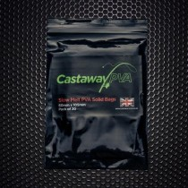 Castaway PVA 60mm x 105mm Slow Melt Solid Bags