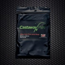 Castaway PVA 80mm x 130mm Slow Melt Solid Bags