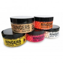 Ringers Chocolate Yellow Mini Bandem Wafters 5mm 50g