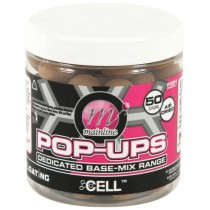 Mainline Cell Dedicated Base Mix 12mm Pop Ups 250ml Tub