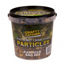 Crafty Catcher Particle Bag Mix Prepared Particles 1.1Ltr  Ready To Use