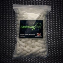 Castaway PVA White Foam Nuggets